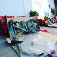 J1 – 101019 – Après un petit dej Péruvien c'est l'atelier Vélo